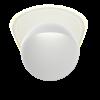 Louis Poulsen aplique de exterior Flindt Ø 300 16W LED 3000K 44 lm/W Blanco Texturado