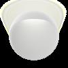 Louis Poulsen aplique de exterior Flindt Ø 400 20W LED 3000K 53 lm/W Blanco Texturado