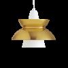 Louis Poulsen lámpara de suspensión DOO-WOP 60W E27 LATÓN