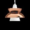 Louis Poulsen lámpara de suspensión DOO-WOP 60W E27 COBRE