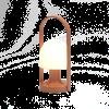 Marset FOLLOWME Lámpara de sobremesa en color Terracota