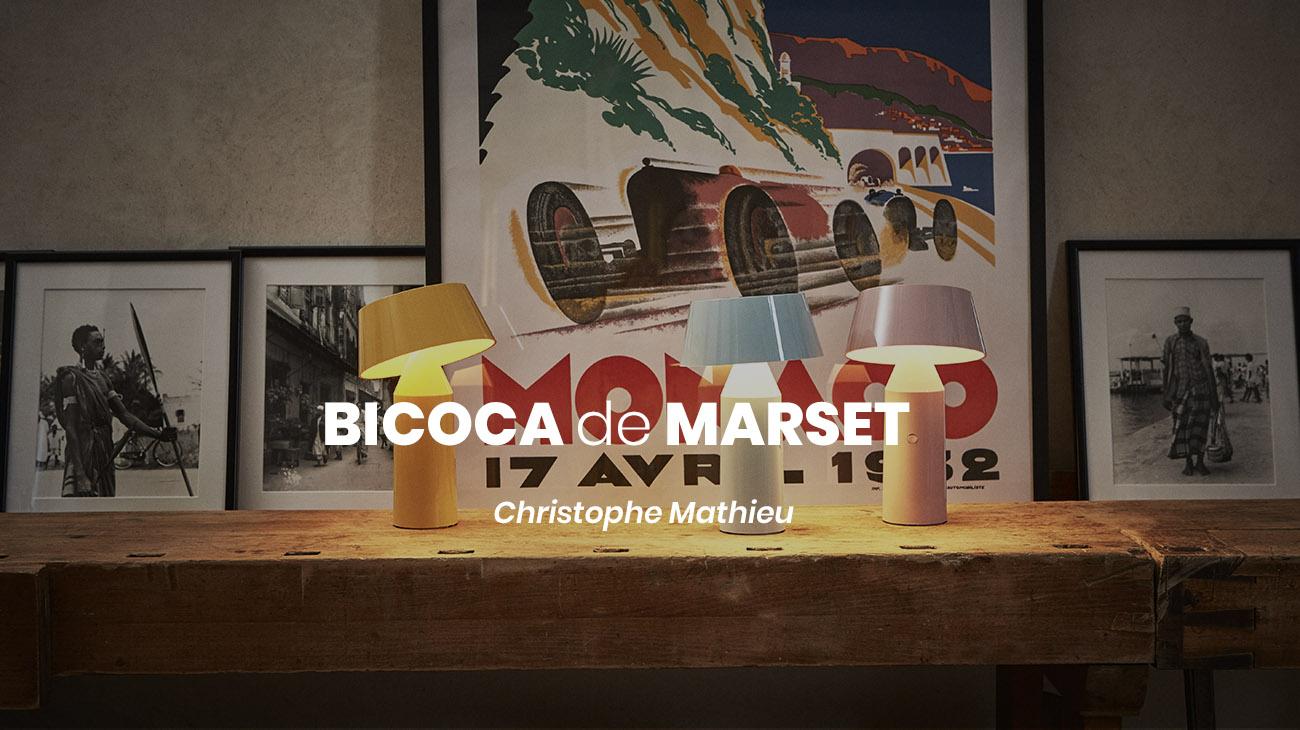 Novedad de Marset en nuestra tienda: Bicoca portátil