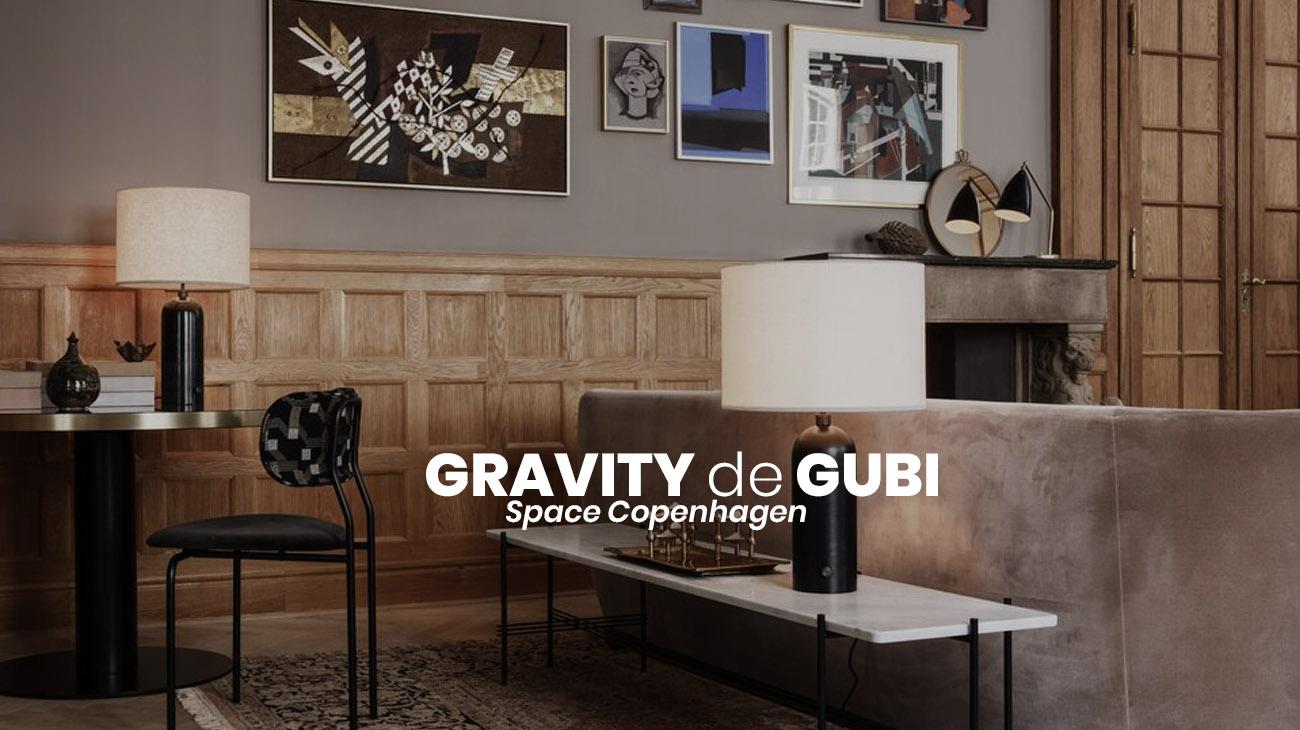 Gravity de Gubi: Nueva marca, nuevas luminarias