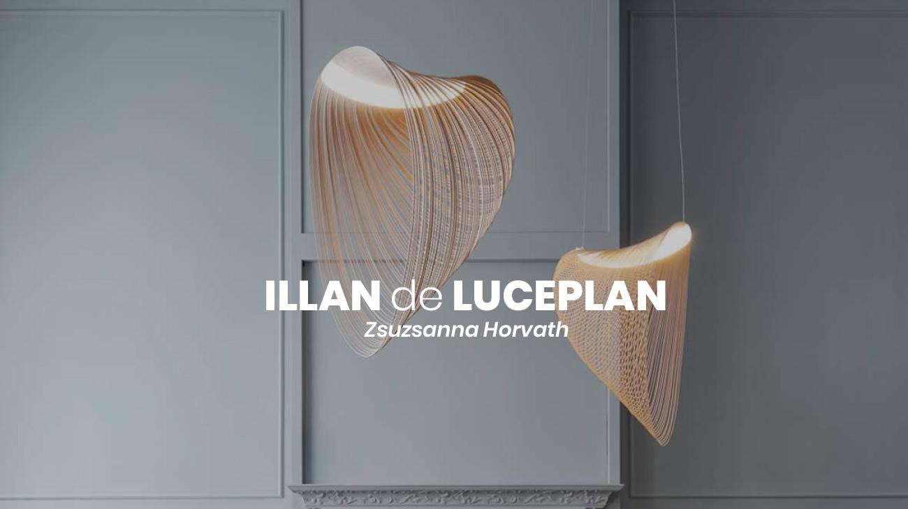 La suspensión de Luceplan: Illan